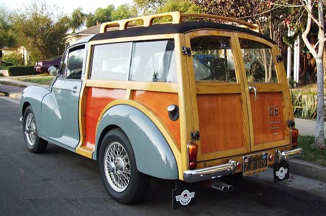 1956 Morris Minnor Woody