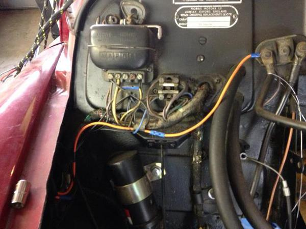 heads up wiring questions might follow morris minor chat rh morrisminorforum com Wiring Harness Diagram Dodge Wiring Harness