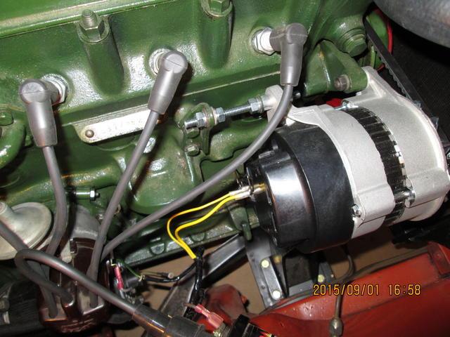Alternator Replacing Dynamo