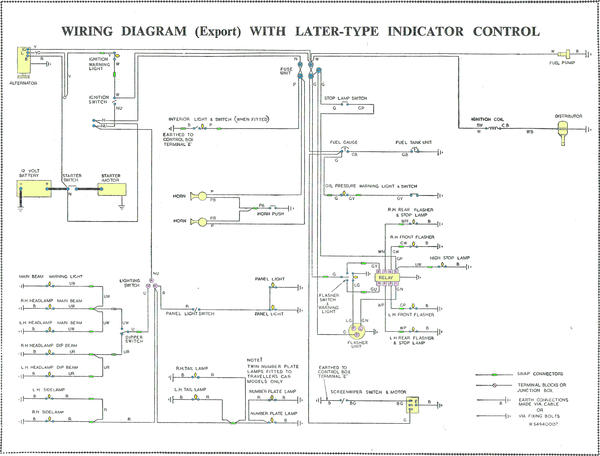 alternator conversion and control box modified minors morris rh morrisminorforum com morris minor traveller wiring diagram morris minor 1000 wiring diagram
