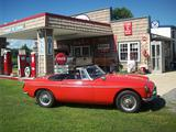 Allen Hazlett 1966 MG MGB MkI Crimson Red