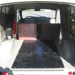 Cargo area before