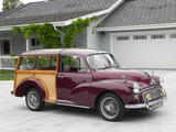 john steepy 1971 Morris Minor Traveller Red Wine