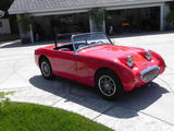 john steepy 1959 Austin Healey Sprite Bugeye Red