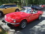 Barry Hotspur 1976 Triumph Spitfire 1500 Viper Red