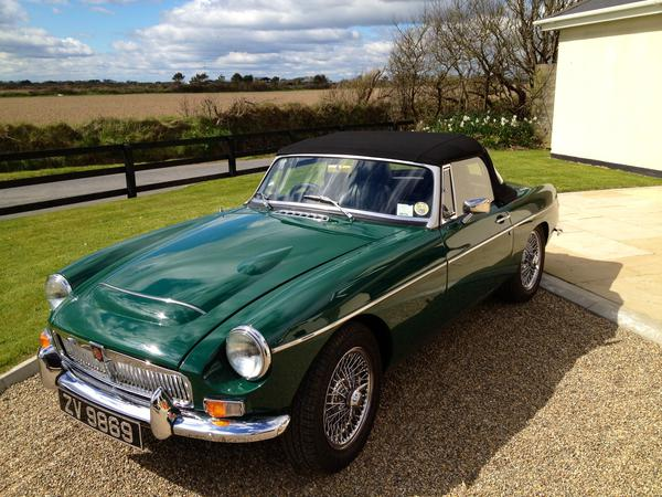 1968 MG MGC (GCN12423) : Registry : The Morris Minor Forum