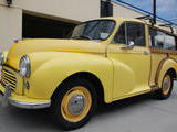 1959 Morris Minor Traveller Yellow Brian Maiorano
