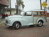 1969 Morris Minor Traveller Light Blue mike kerns