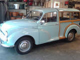 1967 Morris Minor Traveller Brumuda Blue Marty Shane