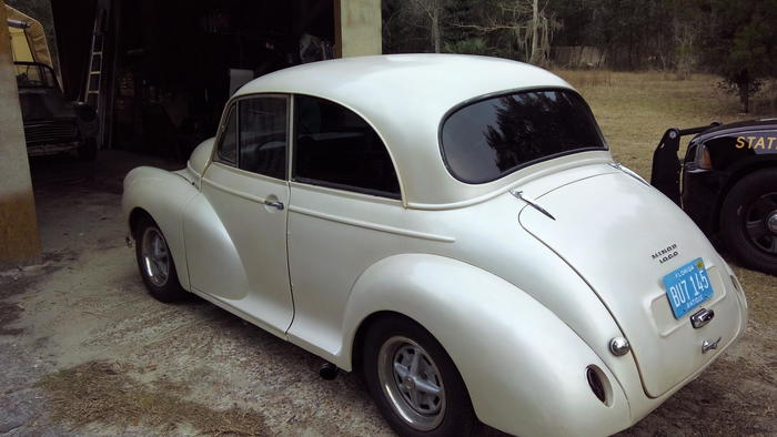1958 Morris Minor 1000 Onlycharlieknows Registry The