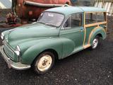 1948 Morris Minor Traveller Green Diana Willis