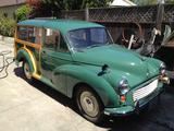 1969 Morris Minor Traveller Almond Green Jesse Bregman