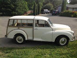 1959 Morris Minor Traveller WHITE C T
