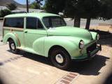 1957 Morris Minor Traveller Mint Green Lois A Schneider