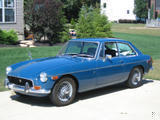 1971 MG MGB GT Teal Blue Tom Rymes