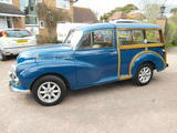 1971 Morris Minor Traveller Teal Blue John Ashmore