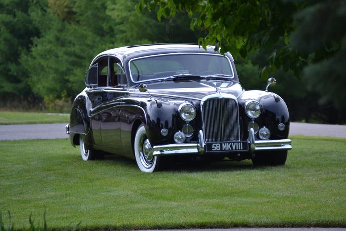 1958 Jaguar Mark Viii Interior - Liam Medina