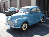 1959 Morris Minor 1000 Saloon 2 door Blue W Yellow Trim Thomas Perkins