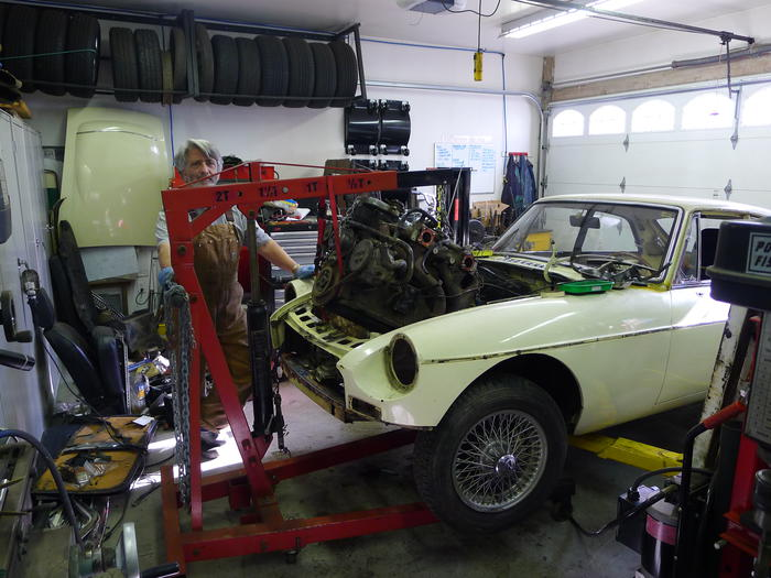 1969 MG MGC GT (GCD1U8538G) : Registry : The Morris Minor Forum