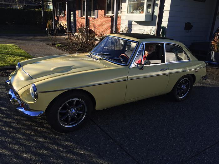 1969 MG MGC GT (GCD1U8538G) : Registry : The Morris Minor Forum