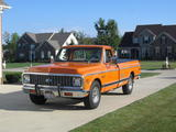 1972 Chevrolet C20 Orange Tom Rymes