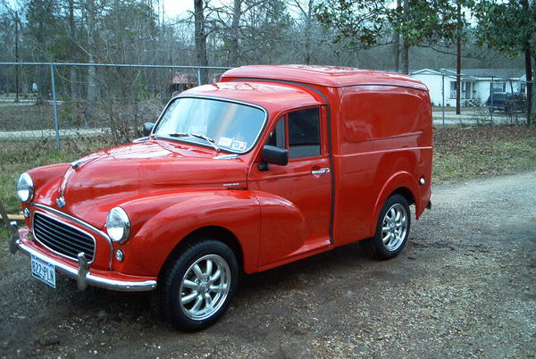 1959 Morris Minor Van (CH3NO2) : Registry : The Morris ...