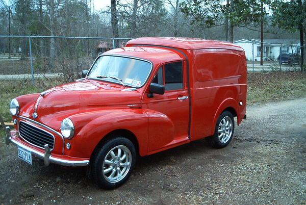 1959 Morris Minor Van Ch3no2 Registry The Morris